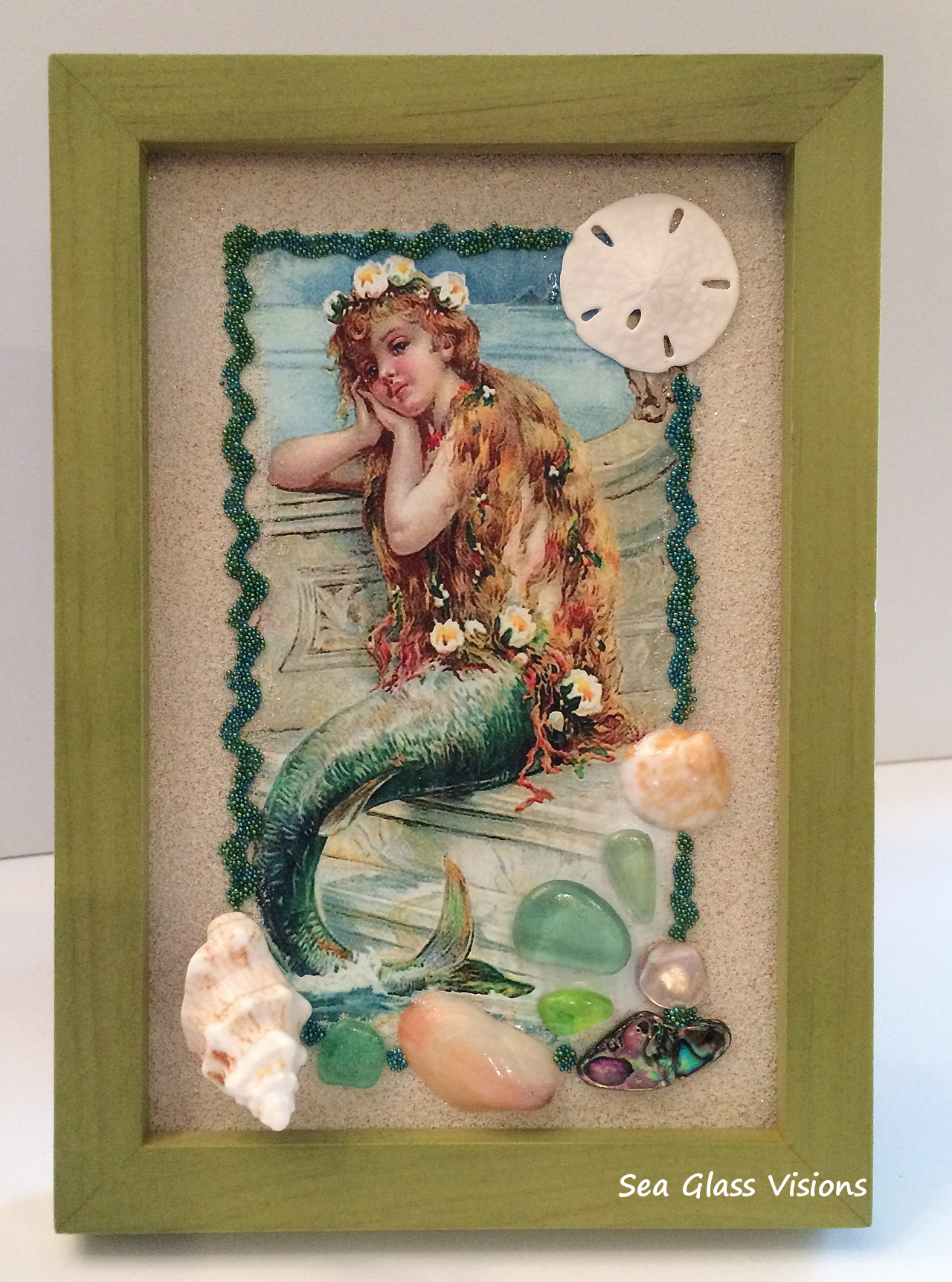 Mermaid Art Frame