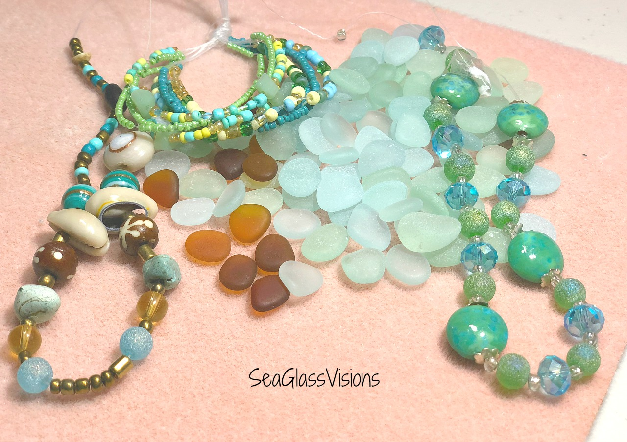 Sea Glass & Beads by Sea Glass Visions