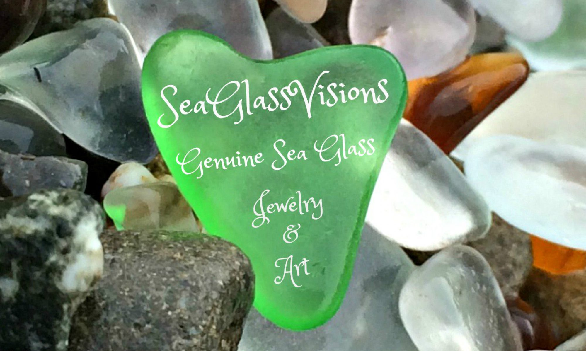 Genuine Sea Glass Jewelry